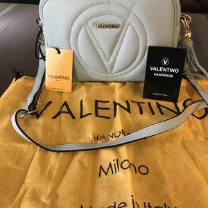 Mario Valentino MIA Quilted Logo Crossbody bag